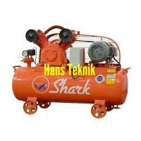 Kompresor SHARK 3 HP LVP 8003 Pompa Angin 3 PK Dinamo Listrik Original