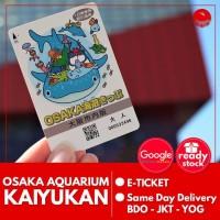 Osaka Aquarium Kaiyukan Child | Akuarium Kaiyukan Osaka Anak 7-15Th