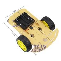 Chassis Robot Car Arduino, Chasis Smart Mobile Robotic Frame 2WD Kit