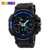 JAm Tangan Pria Original SKMEI Sport Led Model G-Shock Fossil Anti Air