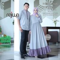Baju Set couple sarimbit edisi lebaran ori NAJWA