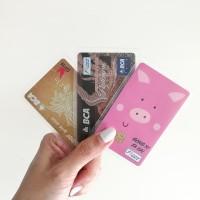 Sampul Kartu Doff Pelindung Kartu ATM, KTP, SIM, ID card