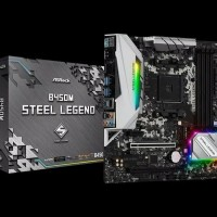 ASRock B450M Steel Legend (AM4, AMD Promontory B450, DDR4, USB3.1)