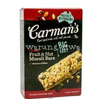 sereal carman's classic fruit & nut muesli bars 180 gram