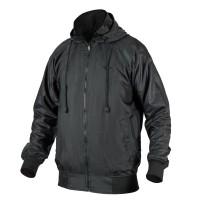 Numerus Black zoid windbreaker jacket / waterproof / jaket biker