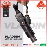 Vladdin Neckale Leather Case Authentic - Tali Sarung Gantungan