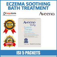 Aveeno Baby Eczema Therapy Soothing Bath Treatment, 5 Bath Packets