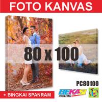 PC80100 Cetak Foto Kanvas / Canvas Photo Print 80 x 100 cm