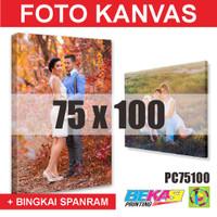 PC75100 Cetak Foto Kanvas / Canvas Photo Print 75 x 100 cm