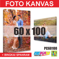 PC60100 Cetak Foto Kanvas / Canvas Photo Print 60 x 100 cm