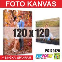 PC120120 Cetak Foto Kanvas / Canvas Photo Print 120 x 120 cm