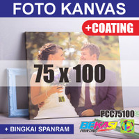 PCC75100 Cetak Foto Kanvas / Canvas Photo Print 75 x 100 cm COATING
