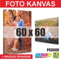 PC6060 Cetak Foto Kanvas / Canvas Photo Print 60 x 60 cm