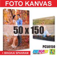 PC50150 Cetak Foto Kanvas / Canvas Photo Print 50 x 150 cm