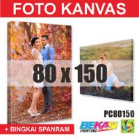 PC80150 Cetak Foto Kanvas / Canvas Photo Print 80 x 150 cm