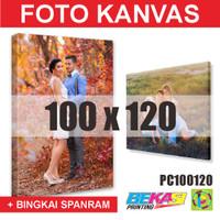 PC100120 Cetak Foto Kanvas / Canvas Photo Print 100 x 120 cm