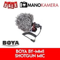 Boya Shotgun Microphone BY-MM1 Mic BY MM1 DSLR Mirrorless Smartphone