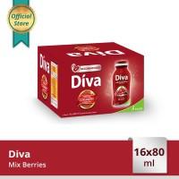 Diva Liquid Mix Berries 16x80ml