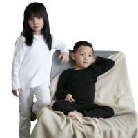 Mosfit SKY Long Sleeve Set Black and White Baju Setelan Anak (Unisex)