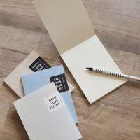 Feel of Textures Plain Notepad A6 / Buku Catatan - Marble