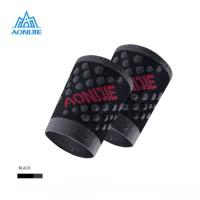 Aonijie Wrist Band E4098 - Deker Tangan sepeda gym lari - BLACK