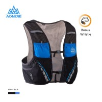 Aonijie Hydration Backpack C933 - 5L Trail Marathon Running - BLACK