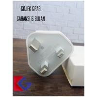 (AWET) GARANSI+ORIGINAL CHARGER UK KAKI TIGA IPHONE 5 6 7 8 PLUS X MAX