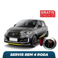 Harga servis rem 4 roda free check up 58 komponen | Pembandingharga.com