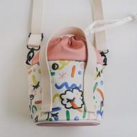 Happy Alone Bucket Bag