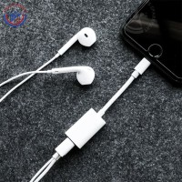 Cable Dual Lightning Audio Charge Adapter iPhone X | iPhone 8 & iPh 7