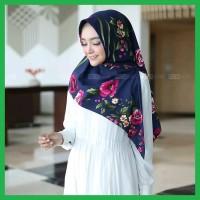 Jual Jilbab Khimar Model Terbaru Harga Murah Tokopedia Source · Kerudung Instan Gayatri Motif Bunga Blooming Rose Triangle Hijab Navy