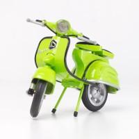 Harga miniatur kendaraan koleksi hobi vespa jadul warna kuno antik | antitipu.com