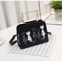 tas import tas wanita hand bag tas selempang kucing 11213 tas batam PU