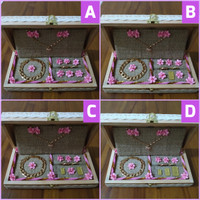 kotak seserahan unik model rustic untuk mahar perhiasan mas kawin