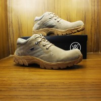 Sepatu Boots Safety / Kickers Delta Tactical / Boot Pria