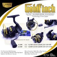 Reel Pancing LOOMIS GOLD FINCH LG-3000 (9+1 ball Bearings)