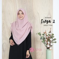 Khimar Freya 2 Sweet Pink by Zizara