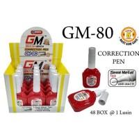 Promo Tip Ex/ Correction Pen/ Penghapus Pena Murah Gm 80 Merah