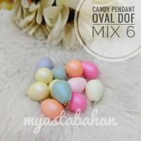 Candy oval dof mix