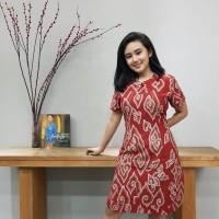 Dress Batik Katun Cirebon Brand Batik Muda - BAAD7210