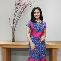 Dress Batik Katun Cirebon - BAAD7210 Brand Batik Muda