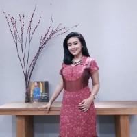 Dress Batik Katun Cirebon - (BAAD7210) Brand Batik Muda