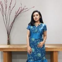 Dress Batik Katun Cirebon Brand Batik Muda - Kode BAAD7210