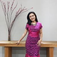 Dress Batik Katun Cirebon Brand Batik Muda - BAAD7210 Batik Muda