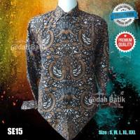 Kemeja Batik Pria Classic Elegan Adah Batik Sragen