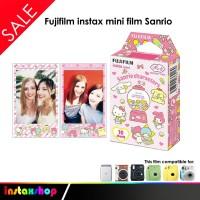 Fujifilm instax mini film Sanrio - 10 Lembar
