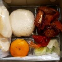 Nasi box/ayam bakar/paket ayam bakar