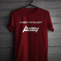 New KAOS T-SHIRT DISTRO NEED FOR SLEEP Termurah