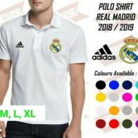 New POLO SHIRT REAL MADRID 2018/2019 Termurah