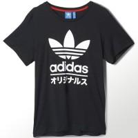 New KAOS T-SHIRT ADIDAS TREFOIL JAPAN Termurah